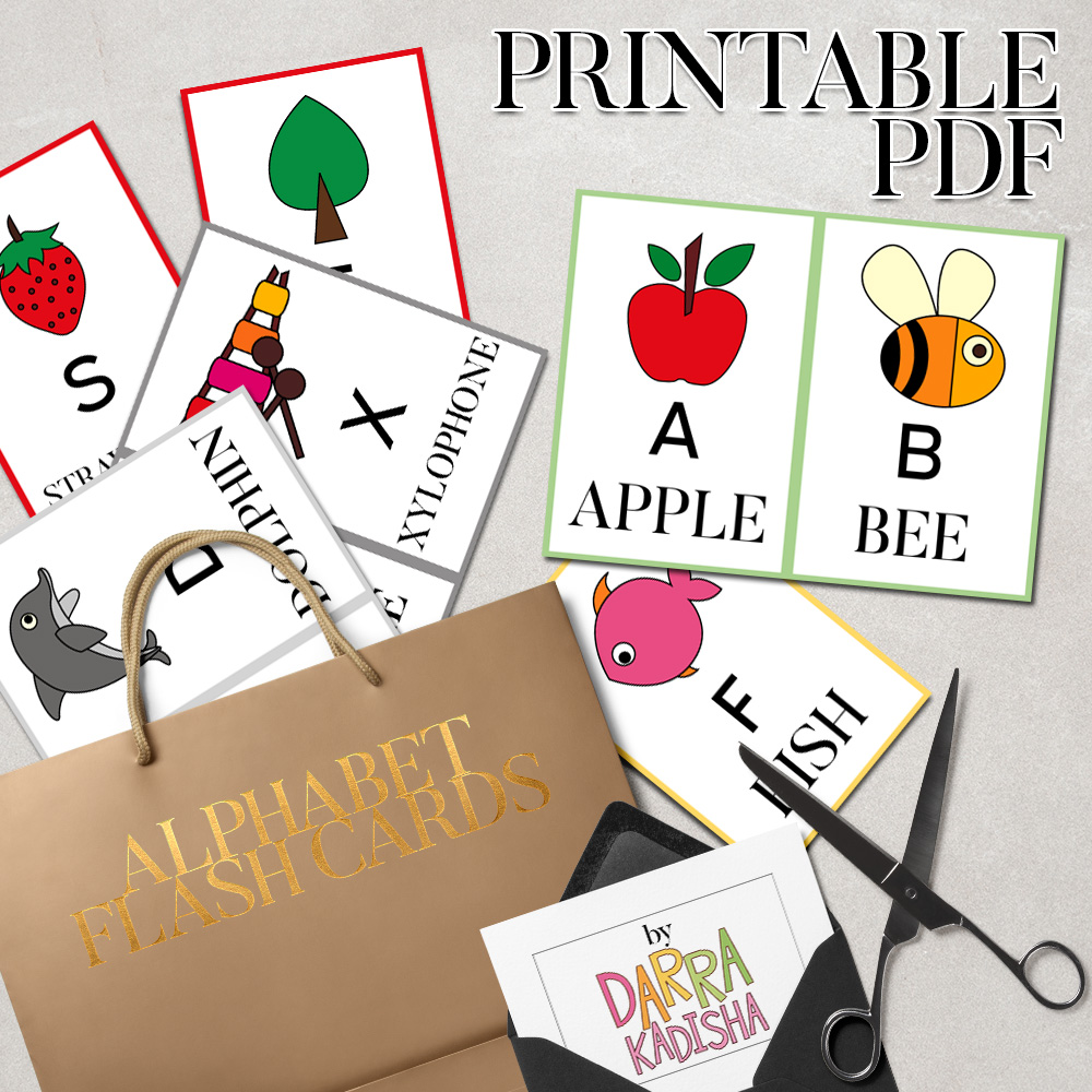 picture about Printable Alphabet Flash Cards called Do-it-yourself Alphabet Flash Playing cards Printable PDF revidevi